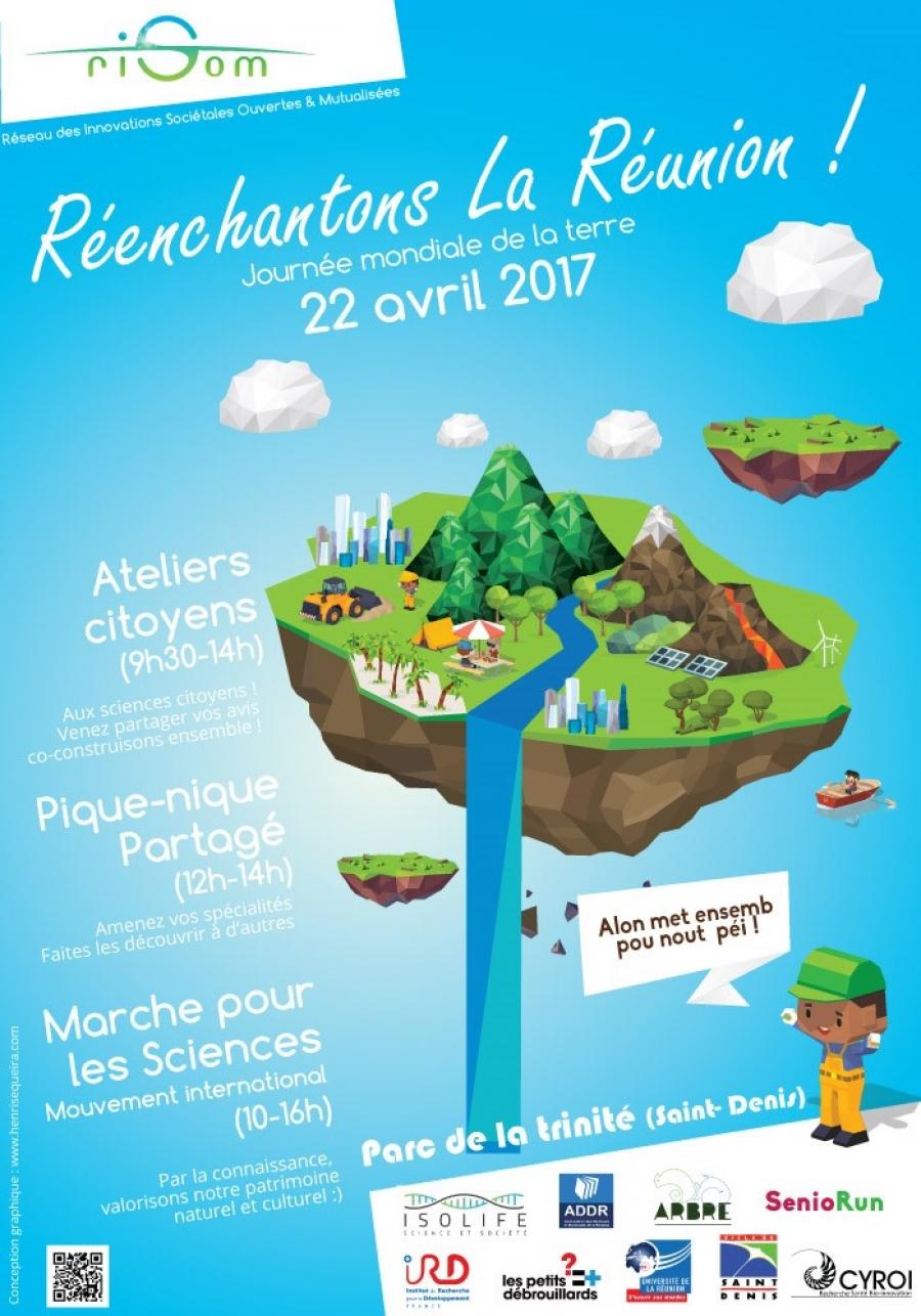 Réenchantons La Réunion le 22 avril 2017